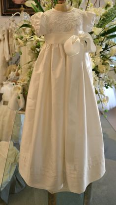 Love!  Christening Gown Baptism Gown Girls 36 months by CouturesbyLaura, $269.00