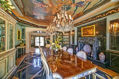 This California Mansion Is as Ornate as a Fabergé Egg  - HouseBeautiful.com