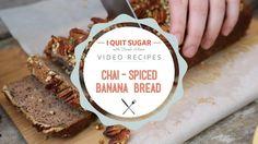 Chai-Spiced Banana Bread - I Quit Sugar Recipe.