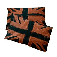 Union Jack Pillowcases- set of 2. $30.00, via Etsy.