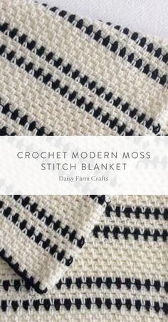 Crochet Afghans, Motifs Afghans, Crochet Stitches Patterns, Tunisian Crochet, Afghan Crochet Patterns, Knitting Patterns, Crochet Blankets, Crochet Pillow Cases, Knitting Ideas