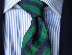 Stripes on Stripes. - #cravatte #cravatta #tie #ties