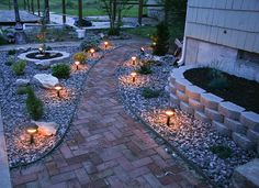 Backyard Landscaping Ideas | put the finishing touches on this section of my backyard landscaping ...