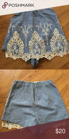Rumor boutique skort New with tags LF Shorts
