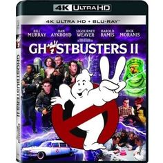 Ghostbusters II (4K UltraHD + Blu-ray) (With INSTAWATCH)