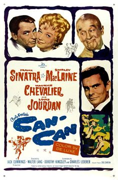 Can-Can (1960) ***