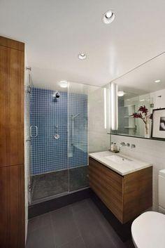 kleine badkamer met inloopdouche - Google zoeken