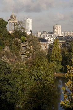 Buttes Chaumont, Paris XIX