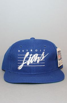 9714d43a944 Detroit Lions Snapback Hat by Vintage Deadstock at karmaloop.com 90s Hats