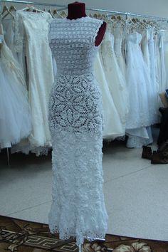 Свадебные платья крючком в наличие и под заказ.Новосибирск