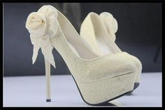 : Buy Free Shipping Luxury Perfume Women  Wedding Shoes High Heels 2013 Platforms Flower Pumps 14cm Heels from Reliable high heels suppliers on Mike Long's Wholesale/Drop Shipping Store $29.90 #heels #high heel shoes