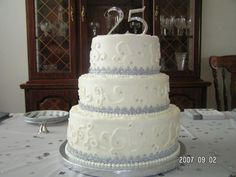 25th wedding anniversary cakes | Special Cake For All Moment: 25th anniversary cake 2011 idea