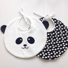 Love Sewing, Sewing For Kids, Diy For Kids, Baby Sewing Projects, Sewing Crafts, Panda Bebe, Bib Pattern, Diy Bebe, Baby Crafts