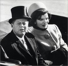 The Kennedys on Jan. 20, 1961, the day he became the nation's 35th president and she became the first lady at age 31.