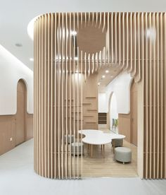New children space design classroom Ideas Commercial Design, Commercial Interiors, Cafe Interior, Interior And Exterior, Wall Design, House Design, Kindergarten Design, Clinic Design, Co Working