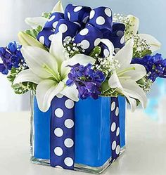 "4"" Glass Centerpiece Block Vase 