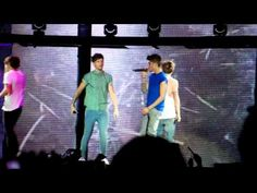 One Direction Live While We're Young O2 First show 23 Feb 13