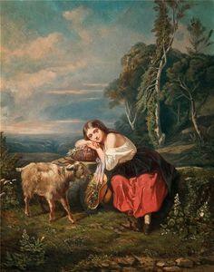 Viático de Vagamundo: Goats in paintings