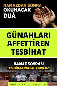 Namaz sonrası Tesbihat nasıl yapılır? | www.corek-otu-yagi.com
