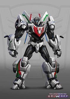 Autobot Wheeljack concept art