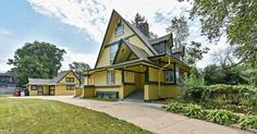 An unusual Chicago home designed by Frank Lloyd Wright can be had for under $200,000