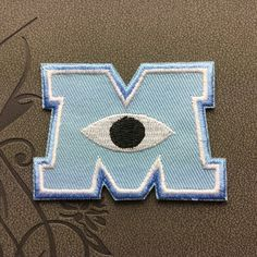 Monsters Inc. Individuality Hat patches sports patches Embroidered Iron-On Patches sew on patches
