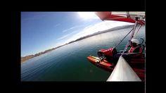 Flying the Cygnet 3 over Lake Havasu, Arizona