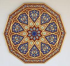 Turkish Pattern by Semih İrteş Turkish Design, Turkish Art, Arabic Pattern, Pattern Art, Islamic Patterns, Islamic Designs, Islamic Art Calligraphy, Celtic Art, Pottery Painting
