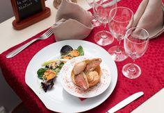 Vincent Favre, chef du restaurant Le Restaurant du Palais, situé à Belfort.