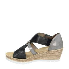 Rieker Sandalette mit Schmuckapplikation | Produktkatalog