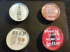 Check out this item in my Etsy shop https://www.etsy.com/listing/229820946/set-of-4-strong-glass-beer-and-wine #magnets #beer #wine #alcohol