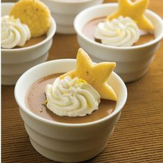 Chocolate Pots de Crème    This decadent French dessert for chocolate pots de creme is easier than you think.