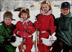 Prince Harry, Prince William, Princess Beatrice and Princess Eugenie
