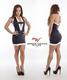 Robe Black Line disponible sur www.womensfashionstyles.fr