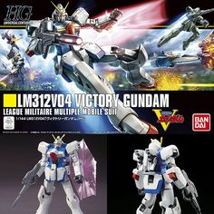 HGUC 1/144 LM312V04 Victory Gundam from V Gundam Plastic Model Kit Bandai