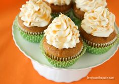 These delicious pumpkin cupcakes feature a fabulous caramel cream cheese frosting. They taste amazing and are surprisingly simple to make.