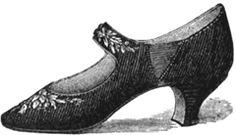 High-heeled Walking Shoes