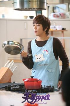 OH dear, he cooks, too. (Jung Yong Hwa) Come visit kpopcity.net for the largest discount fashion store in the world!!