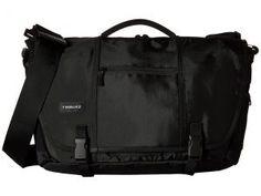 Timbuk2 Commute Messenger Bag Medium (Black) Messenger Bags