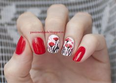 Gorgeous Poppies, by Anastasia from Passion or Kinda - absolutely lovely!!!