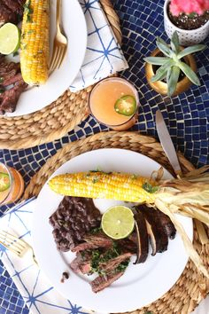 mexican bbq fiesta recipe and ideas via @mystylevita