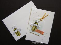 Stampin Up Baby Bumblebee - Fiona Bradley