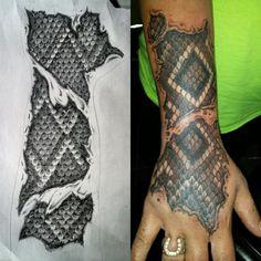 Rattlesnake Skin Pattern - Update by Texas-Grizzly2007.deviantart.com on @DeviantArt