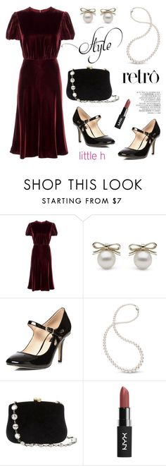 """""""Style retro!"""" by littlehjewelry ❤ liked on Polyvore featuring Valentino, Dorothy Perkins, Serpui and By Zoé"""
