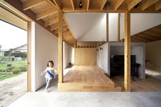 """Completed in 2013 in Asakura, Japan. Images by Satoshi Ikuma. """"Minka 2013"""" is the residence of a farmer husband, his nutritionist wife and their daughters. The wife is a skillful cook and uses plenty of the..."""