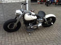 Bobber Inspiration | Bobbers & Custom Motorcycles | 1976 FLH bobber by Arrigo Bordicchia