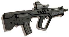 "TAR-21 ""Tavor"" assault rifle."