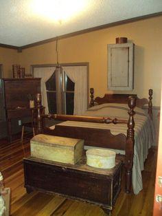 Friend Pam's home_ bedroom