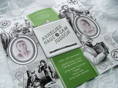 FPO: Annelies and Sam Wedding Invitation