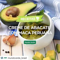 Falando nela olha aí uma boa dica para uso da maca peruana ! #Repost @mundoverde_brasil with @repostapp.  Essa sobremesa tá louca pra ir pra sua mesa. Aprenda a fazer esse creme de abacate com maca peruana! Ingredientes: 1/2 abacate maduro 1/2 copo de iogurte natural desnatado 2 colheres (sopa) de Maca Peruana em Pó Mundo Verde Seleção 1 colher (sopa) de lascas de amêndoas Suco de 1 limão Adoçante a gosto Modo de preparo: Bata todos os ingredientes no liquidificador até formar um creme…